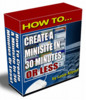 Thumbnail Easy 30 Minutes Minisite System